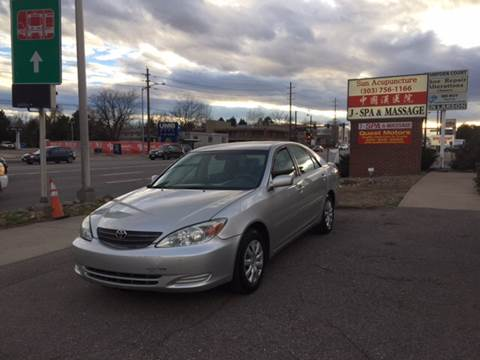 2006 Toyota Camry for sale at QUEST MOTORS in Englewood CO