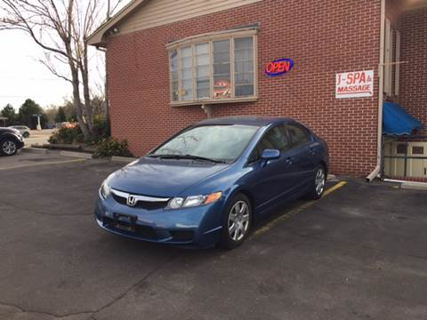 2010 Honda Civic for sale at QUEST MOTORS in Englewood CO