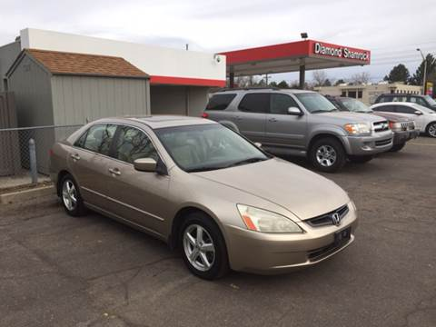 2004 Honda Accord for sale at QUEST MOTORS in Englewood CO