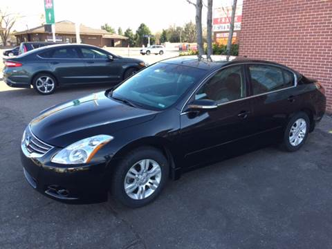 2012 Nissan Altima for sale at QUEST MOTORS in Englewood CO