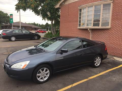 2003 Honda Accord for sale at QUEST MOTORS in Englewood CO