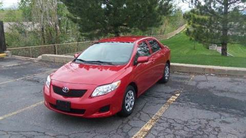 2010 Toyota Corolla for sale at QUEST MOTORS in Englewood CO