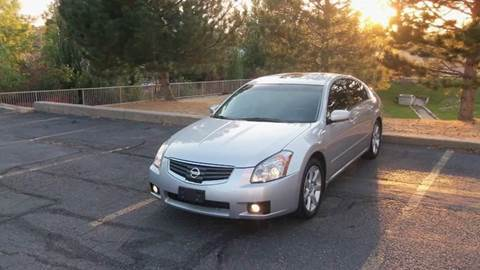 2008 Nissan Maxima for sale at QUEST MOTORS in Englewood CO