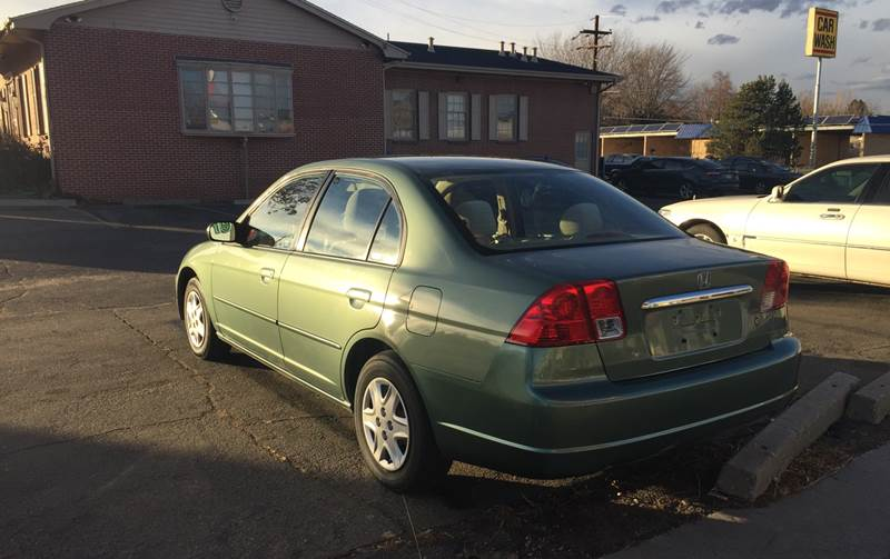 2003 Honda Civic Lx 4dr Sedan W Side Airbags In Denver Co Quest Motors