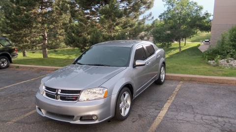 2013 Dodge Avenger for sale at QUEST MOTORS in Englewood CO