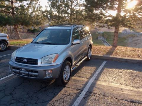 2001 Toyota RAV4 for sale at QUEST MOTORS in Englewood CO