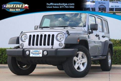 2016 Jeep Wrangler Unlimited for sale in Lewisville, TX