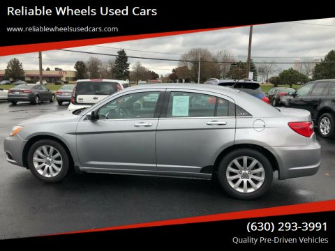 2014 Chrysler 200 for sale at Reliable Wheels Used Cars in West Chicago IL