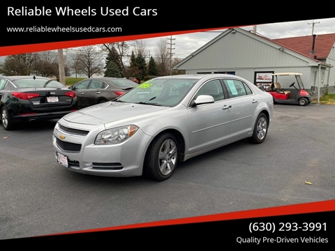 2012 Chevrolet Malibu for sale at Reliable Wheels Used Cars in West Chicago IL