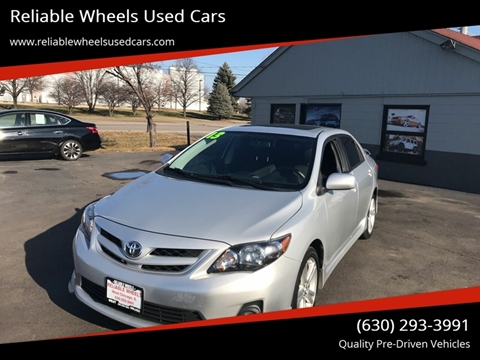 2013 Toyota Corolla for sale at Reliable Wheels Used Cars in West Chicago IL