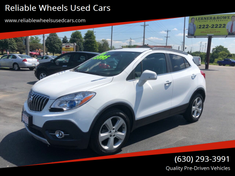 2016 Buick Encore for sale at Reliable Wheels Used Cars in West Chicago IL