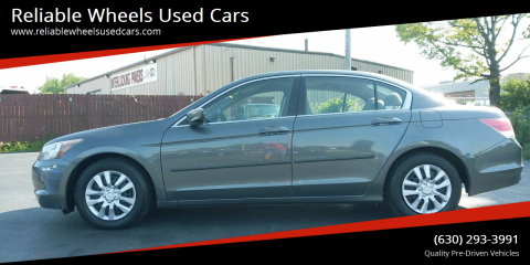 2008 Honda Accord for sale at Reliable Wheels Used Cars in West Chicago IL