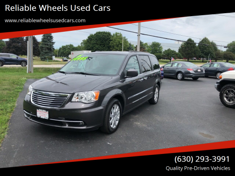 2016 Chrysler Town and Country for sale at Reliable Wheels Used Cars in West Chicago IL