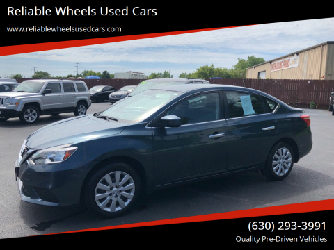 2016 Nissan Sentra for sale at Reliable Wheels Used Cars in West Chicago IL