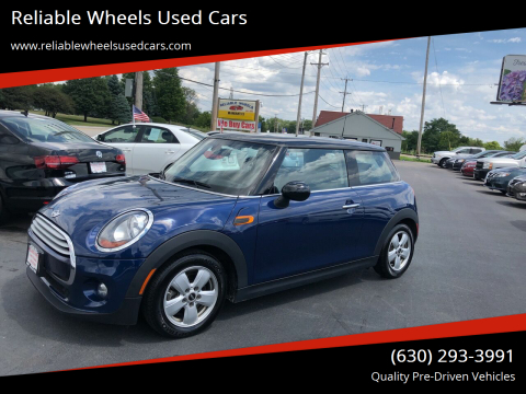 2015 MINI Hardtop 2 Door for sale at Reliable Wheels Used Cars in West Chicago IL