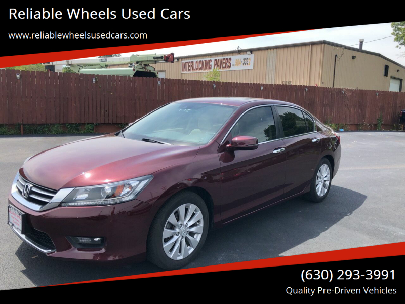 2015 Honda Accord for sale at Reliable Wheels Used Cars in West Chicago IL