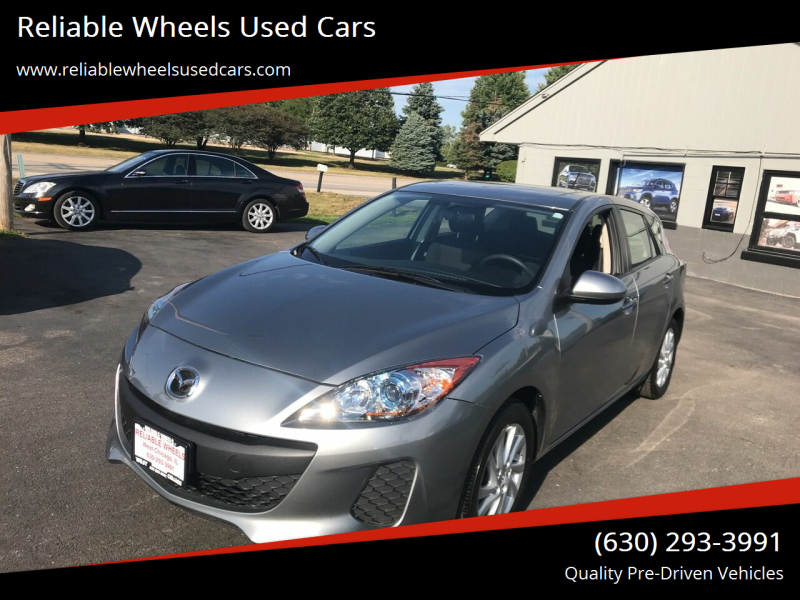 2012 Mazda MAZDA3 for sale at Reliable Wheels Used Cars in West Chicago IL