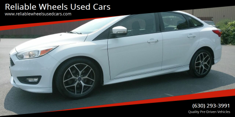 2016 Ford Focus for sale at Reliable Wheels Used Cars in West Chicago IL