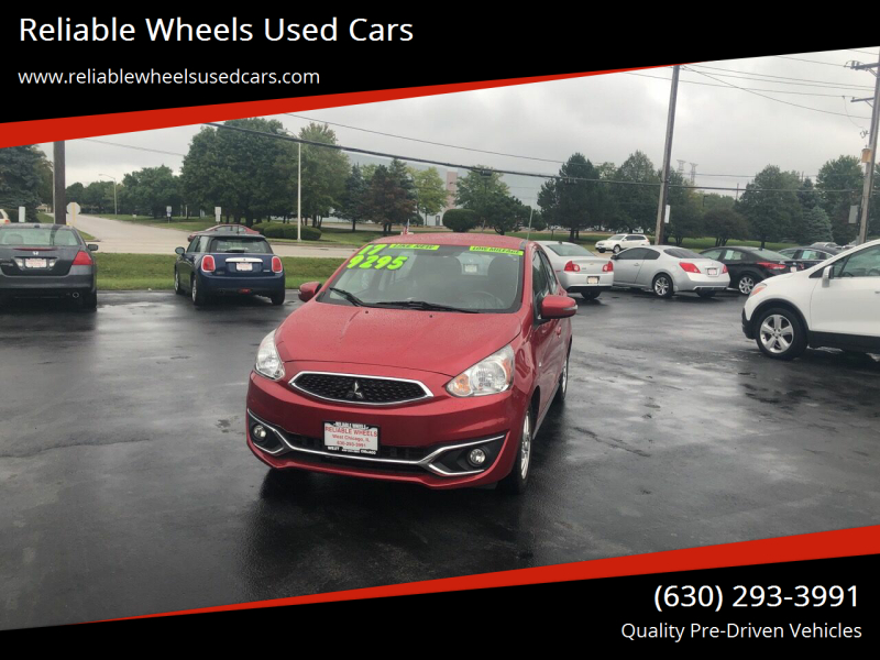 2017 Mitsubishi Mirage for sale at Reliable Wheels Used Cars in West Chicago IL