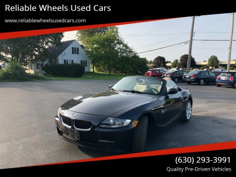 2008 BMW Z4 for sale at Reliable Wheels Used Cars in West Chicago IL