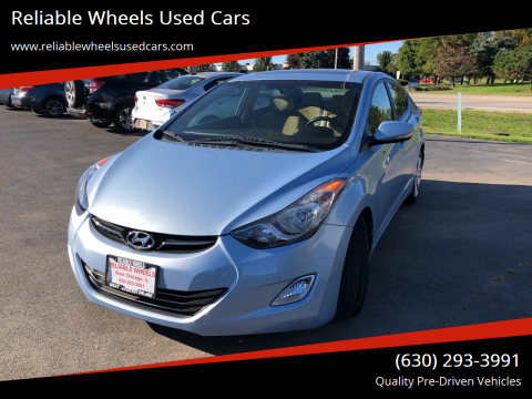 2012 Hyundai Elantra for sale at Reliable Wheels Used Cars in West Chicago IL