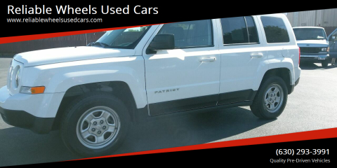 2016 Jeep Patriot for sale at Reliable Wheels Used Cars in West Chicago IL