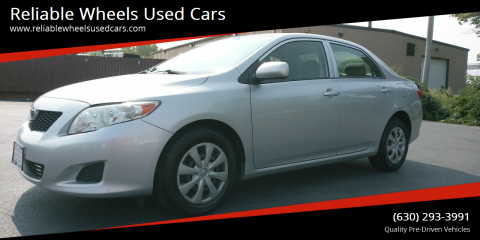 2009 Toyota Corolla for sale at Reliable Wheels Used Cars in West Chicago IL