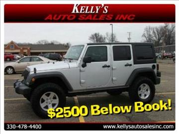 2012 Jeep Wrangler Unlimited for sale in Canton, OH