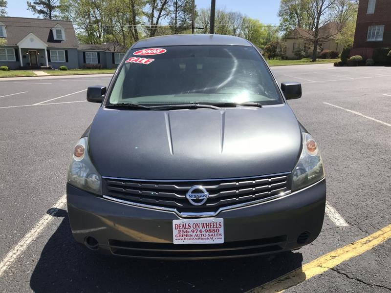 2008 Nissan Quest S In Moulton AL - DEALS ON WHEELS