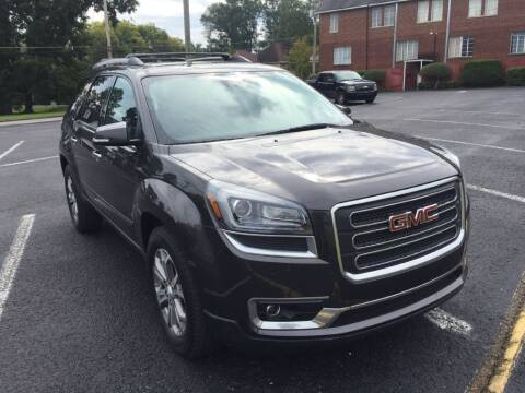 2015 GMC Acadia for sale at DEALS ON WHEELS in Moulton AL