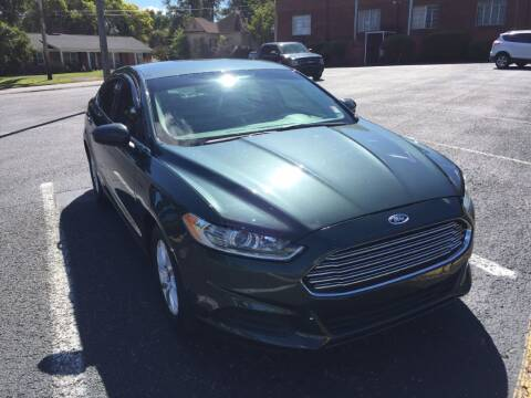 2015 Ford Fusion for sale at DEALS ON WHEELS in Moulton AL