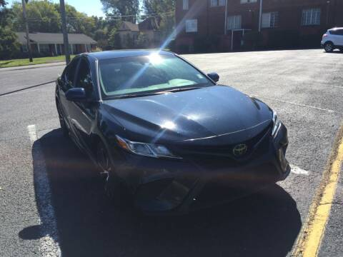 2018 Toyota Camry for sale at DEALS ON WHEELS in Moulton AL