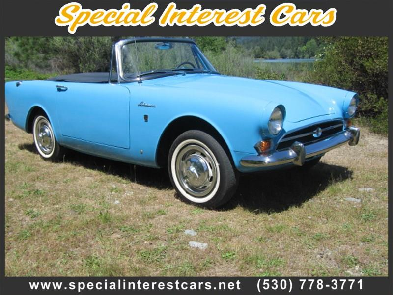 1966 Sunbeam Alpine V for sale at SPECIAL INTEREST CARS in Lewiston CA