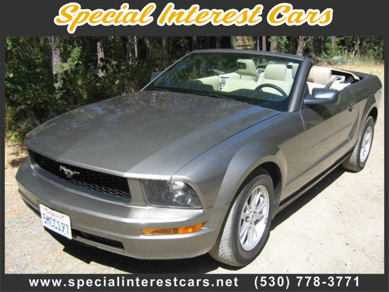 2005 Ford Mustang for sale at SPECIAL INTEREST CARS in Lewiston CA