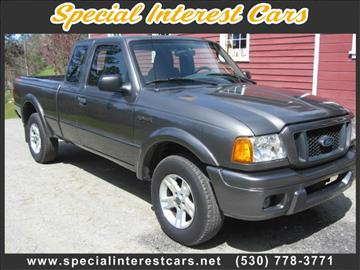 2005 Ford Ranger for sale at SPECIAL INTEREST CARS in Lewiston CA
