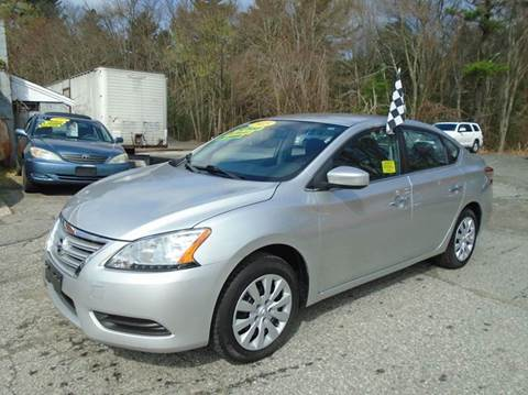 2015 Nissan Sentra for sale at Taunton Auto & Truck Sales in Taunton MA