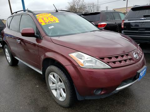 2007 Nissan Murano for sale at Eagle Motors in Hamilton OH