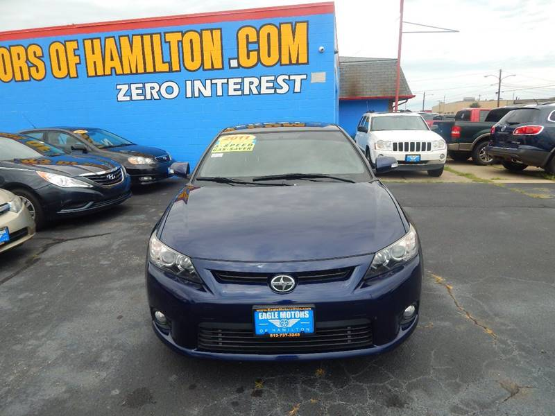 2011 scion tc 2dr coupe 6m in hamilton oh eagle motors for Eagle motors hamilton ohio