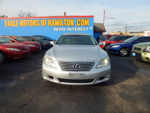 Lexus ls 460 for sale for Eagle motors hamilton ohio