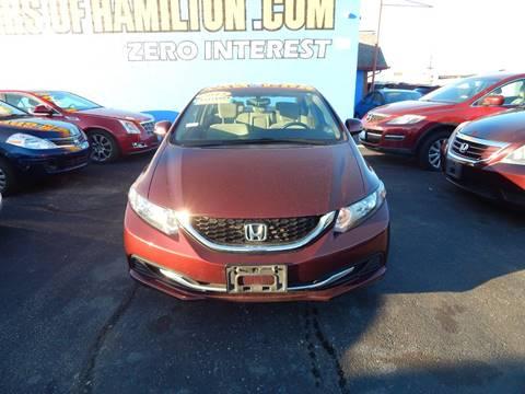 Honda civic for sale in hamilton oh for Eagle motors hamilton ohio