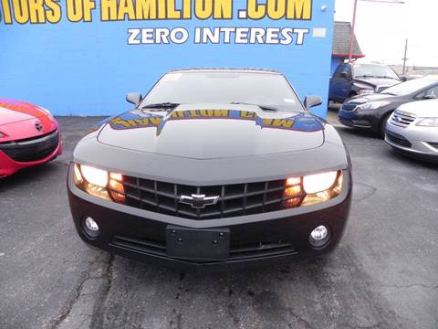 2012 Chevrolet Camaro for sale at Eagle Motors in Hamilton OH