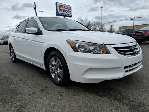 2011 Honda Accord for sale at Eagle Motors in Hamilton OH