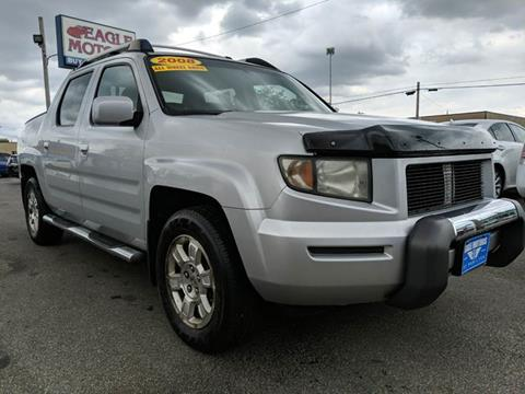 2008 Honda Ridgeline for sale at Eagle Motors in Hamilton OH