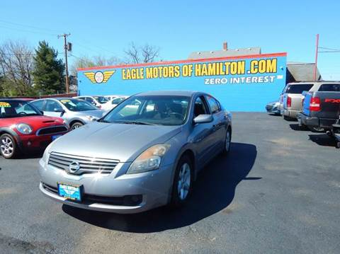 2007 nissan altima for sale in hamilton oh for Eagle motors hamilton ohio