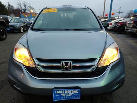 2010 Honda CR-V for sale at Eagle Motors in Hamilton OH
