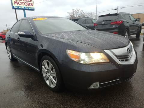 2009 Acura RL for sale at Eagle Motors in Hamilton OH