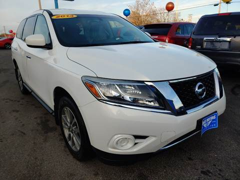 2014 Nissan Pathfinder for sale at Eagle Motors in Hamilton OH