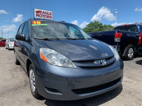 2010 Toyota Sienna for sale at Eagle Motors in Hamilton OH