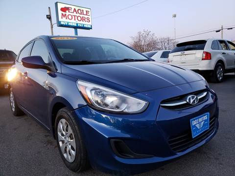 2015 Hyundai Accent for sale at Eagle Motors in Hamilton OH