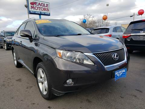 2010 Lexus RX 350 for sale at Eagle Motors in Hamilton OH